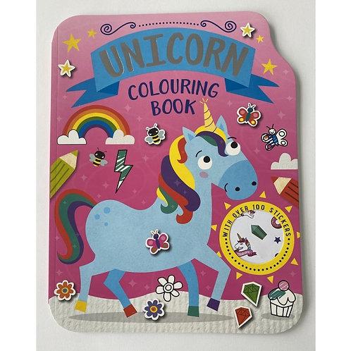 Unicorn Colouring Book