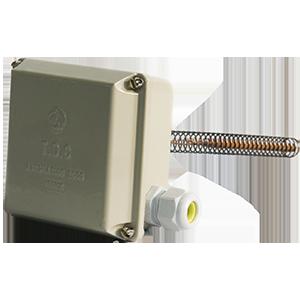 Thermostat à double contacts indépendants à dilatation de liquide avec points de consigne réglables