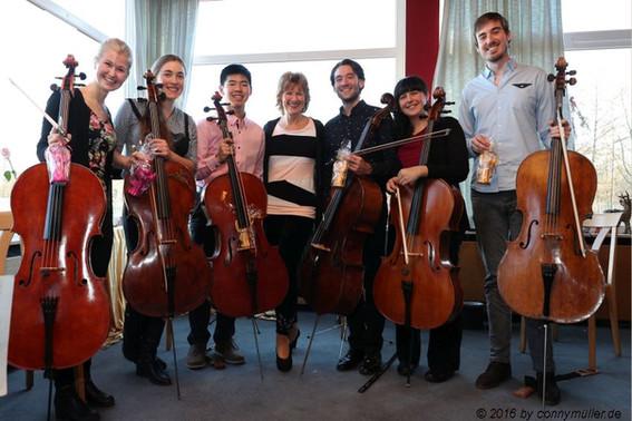 Cello-Sextet & Maria Kliegel
