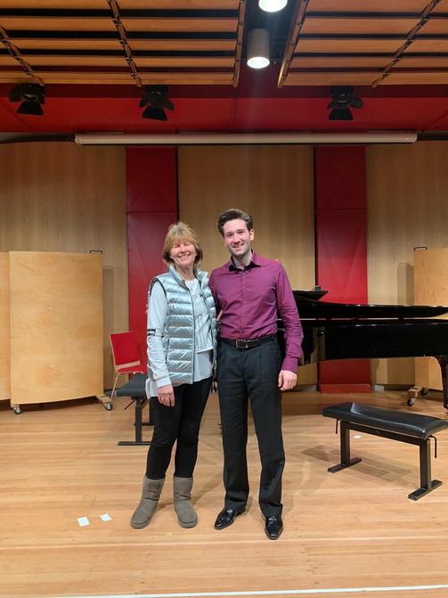 Final recital from my studies with my beloved teacher Maria Kliegel