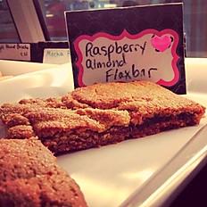Raspberry Almond Flax Bar - One Dozen