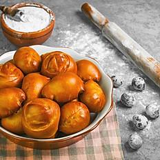 Filled brioche rolls