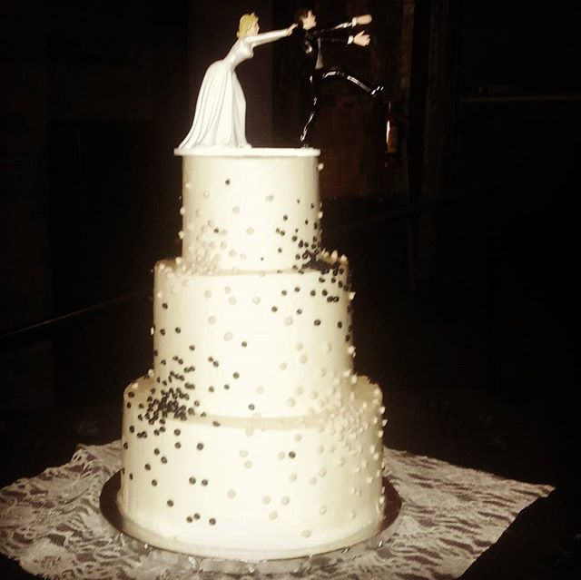 Three Tier Organic Wedding Cake