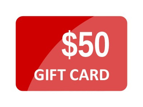 $50.00 Fringe Hair Salon Gift Card