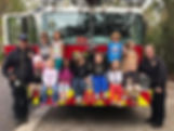 Children With Hilton Head Island Fire Department
