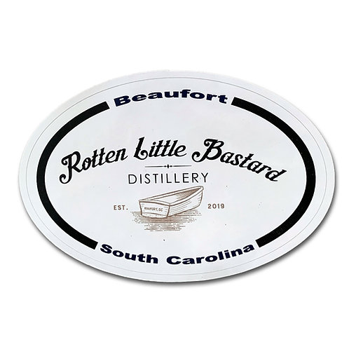 Rotten Little Bastard Logo Sticker
