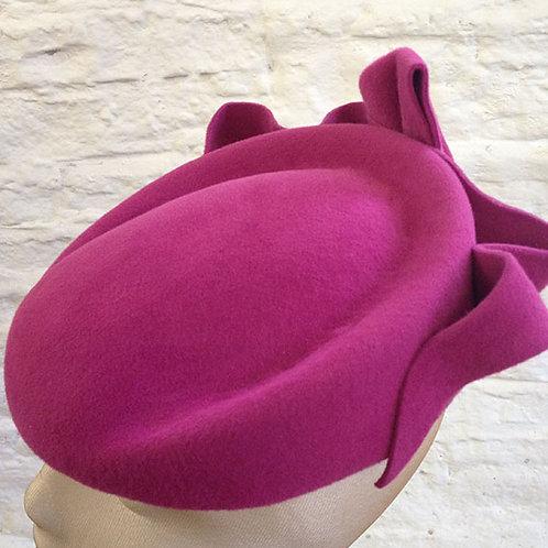 Magenta (pink) Ripple Beret