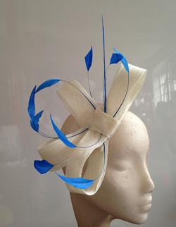 Ivory & Blue Loops