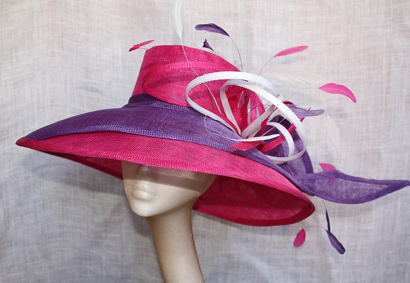 Pink & Purple Large Hat