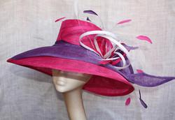 Pink & Purple Large Hat