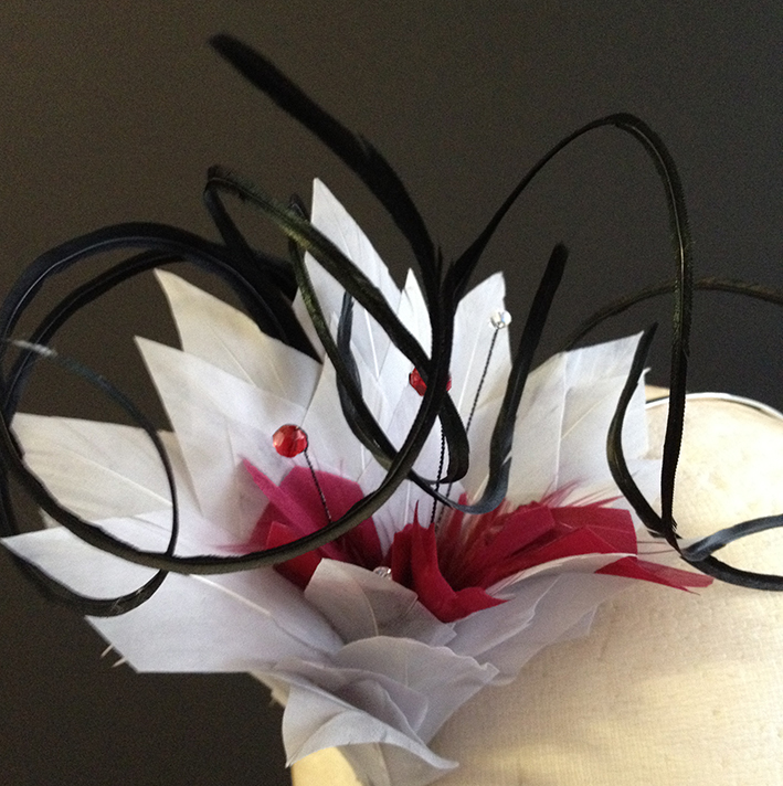 Feather Flower Headband