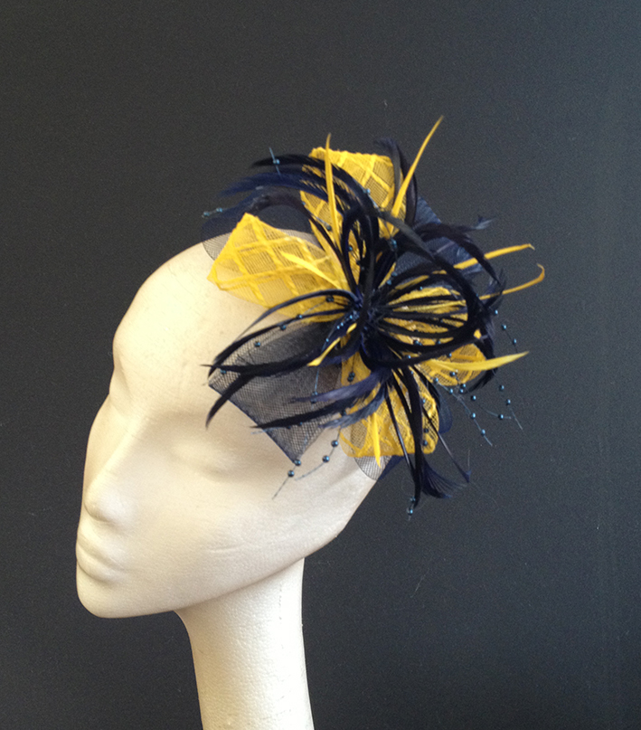 Navy & Yellow Crin