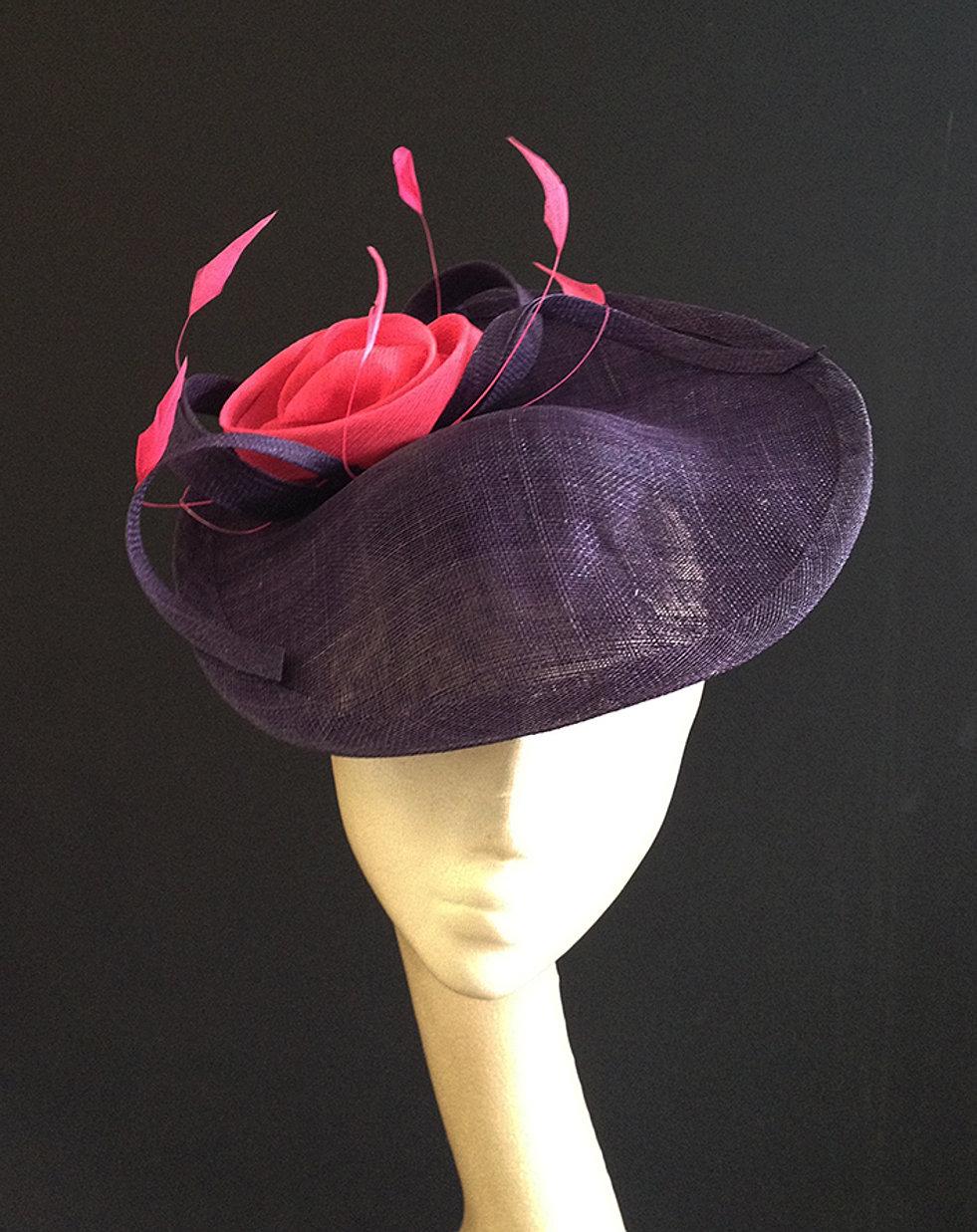 Purple Cerise Saucer