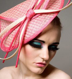 Pink & Ivory Headpiece