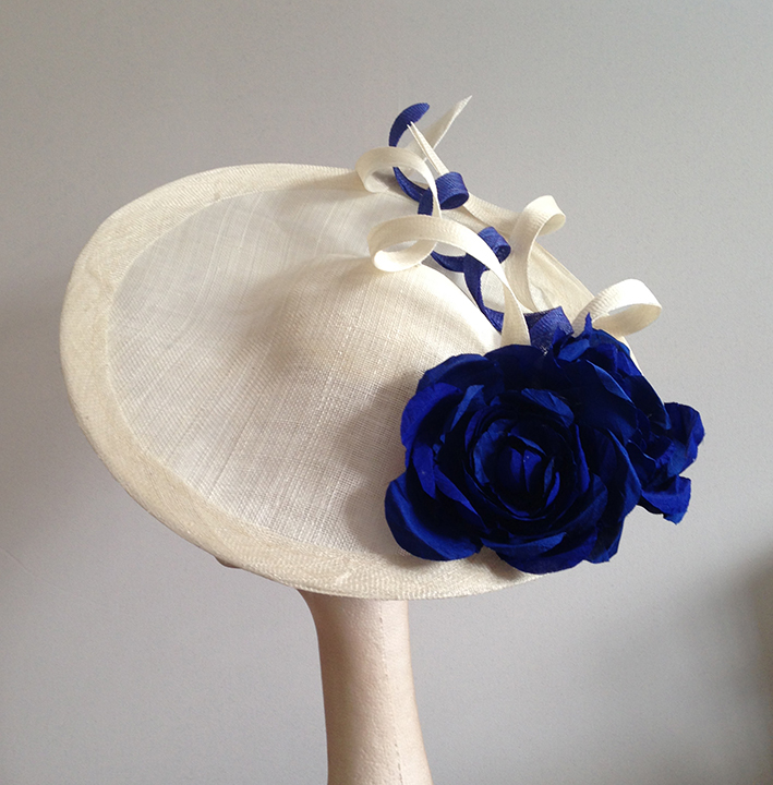 Blue & Ivory Saucer