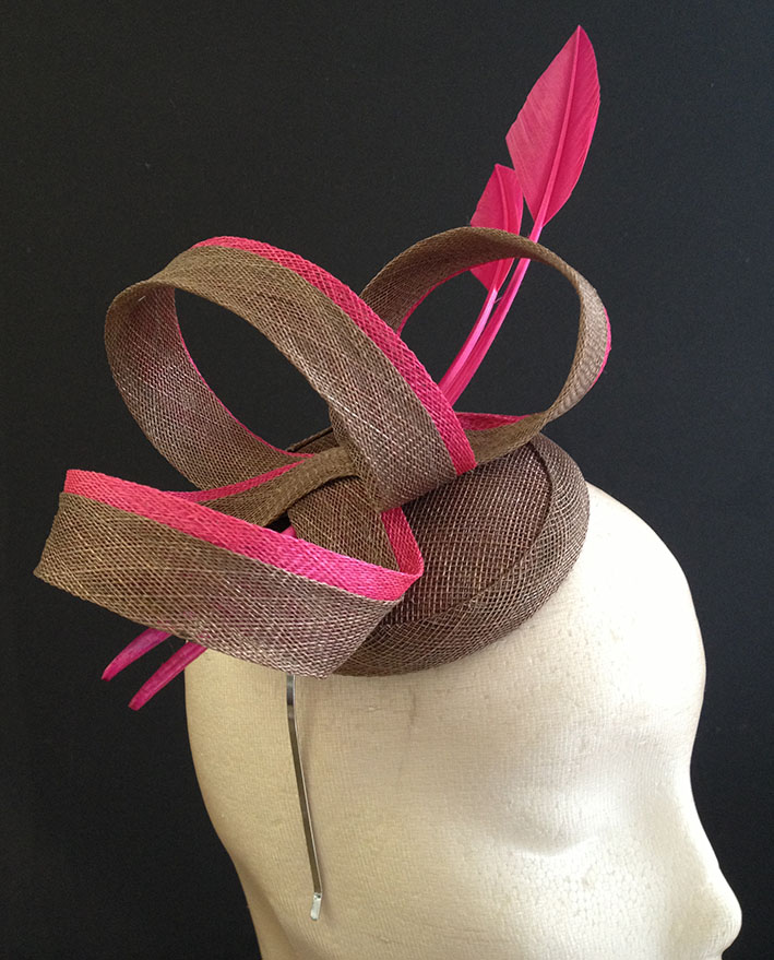 Brown & Pink Loops