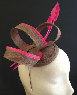 Brown & Pink Loops