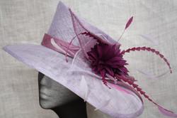Lilac & Purple Hat