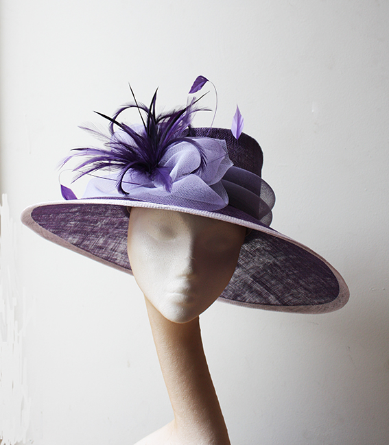 Purple & Lilac Hat