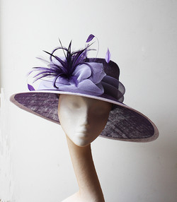 Purple & Lilac Hat