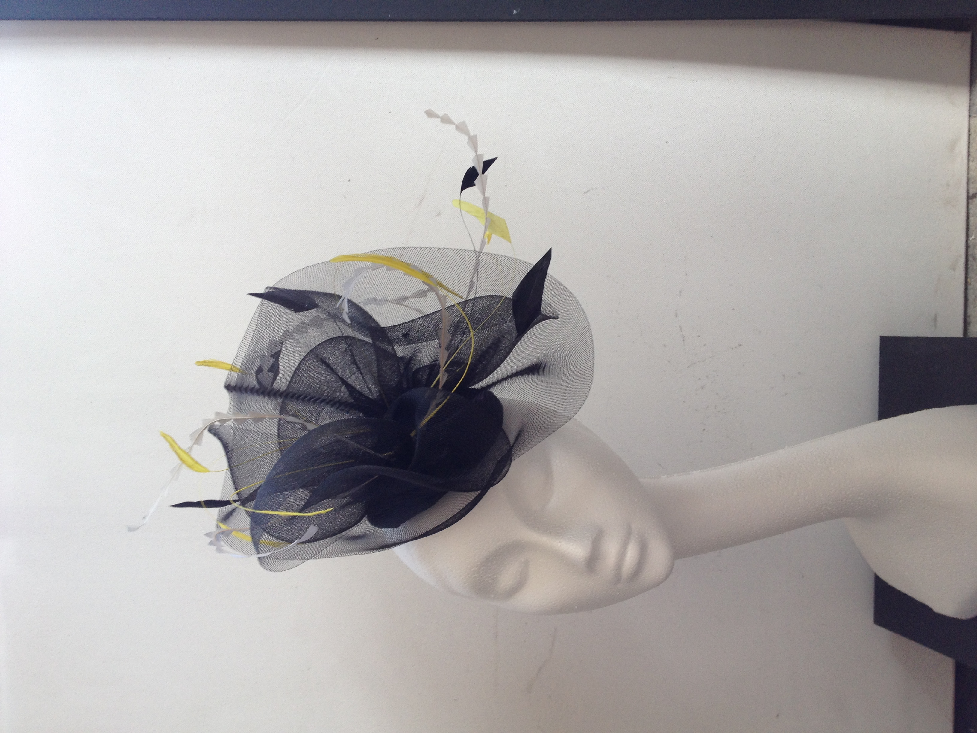 Black Yellow Headpiece
