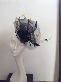 Black Yellow Headpiece