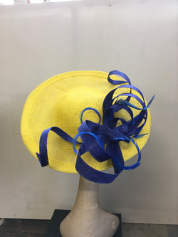 Yellow Royal Saucer