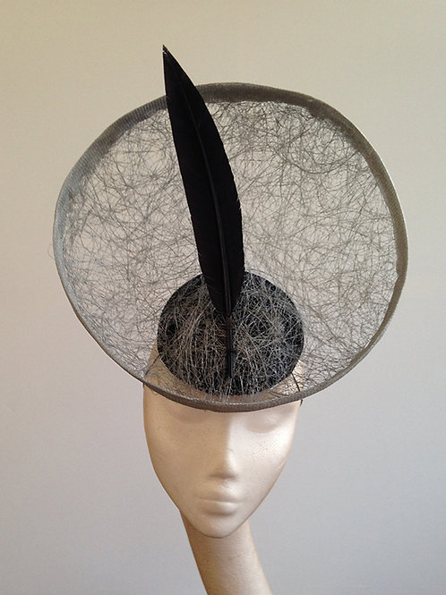 Silver And Black Gonzo Headpiece