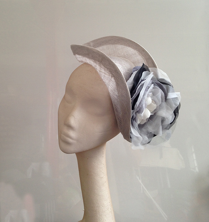 Silver & Black Headpiece