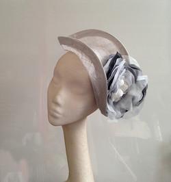 Silver & Black Headpiece