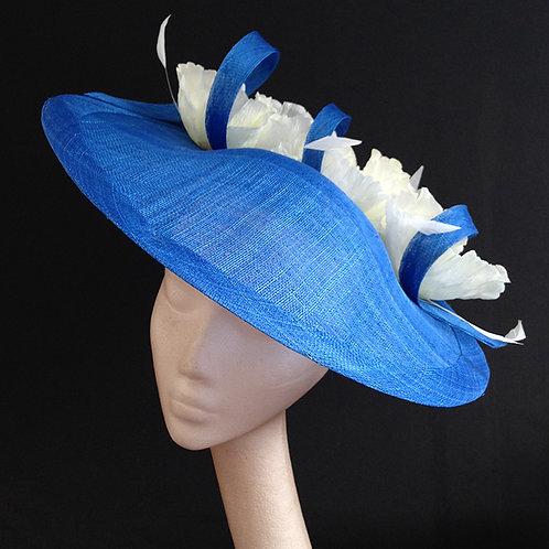 Cobalt Blue & White Saucer