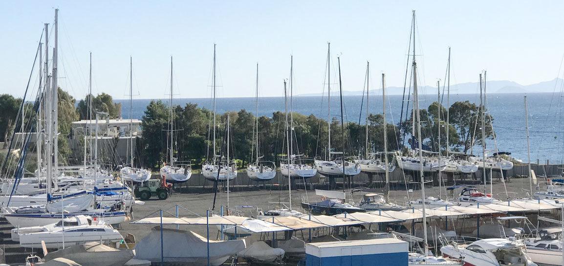 Wintering Boat Parking Διαχείμαση Σκαφών