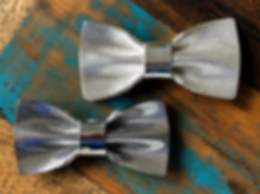silver bowties