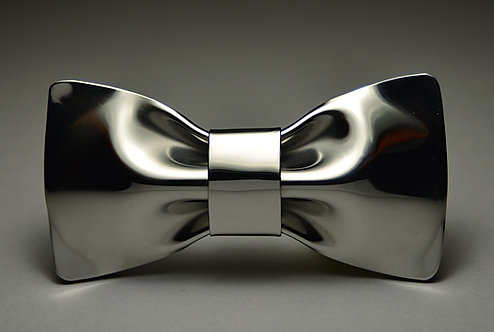 stainless steel bow tie