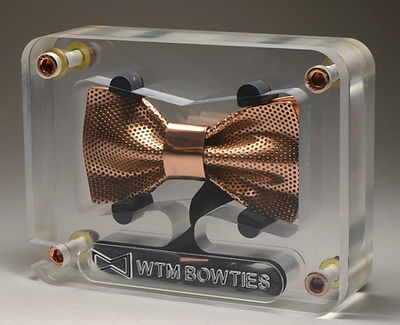 copper bow tie