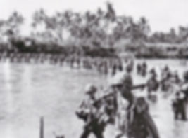 us-troops-on-leyte-island-using-a-rope-a