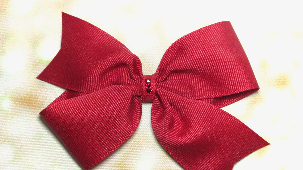 Large Butterfly Bow - Sunshine Girl