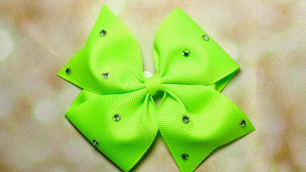 Pretty Butterfly Bow - Neon
