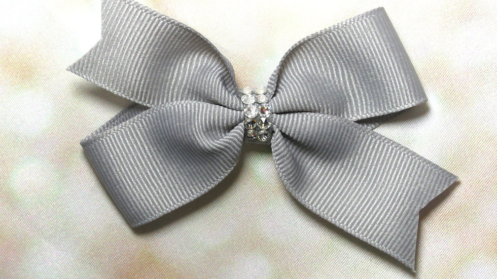 Butterfly Bow w/ Crystals - Classy Girl