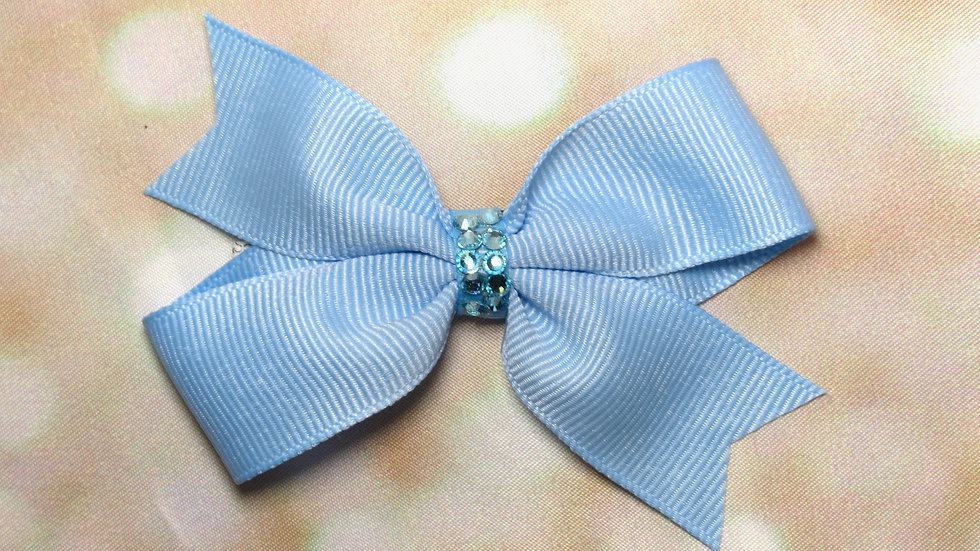 Butterfly Bow w/ Crystals - Nature Girl
