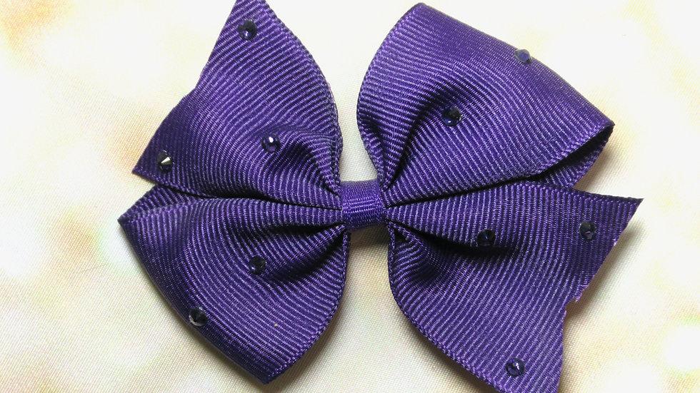 Pretty Butterfly Bow - Pretty In Purple