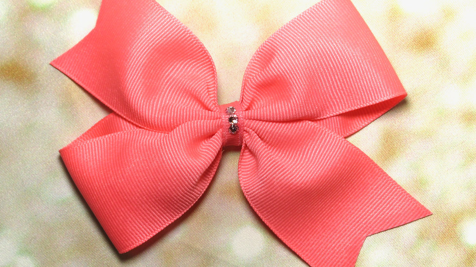 Large Butterfly Bow - Retro Girl