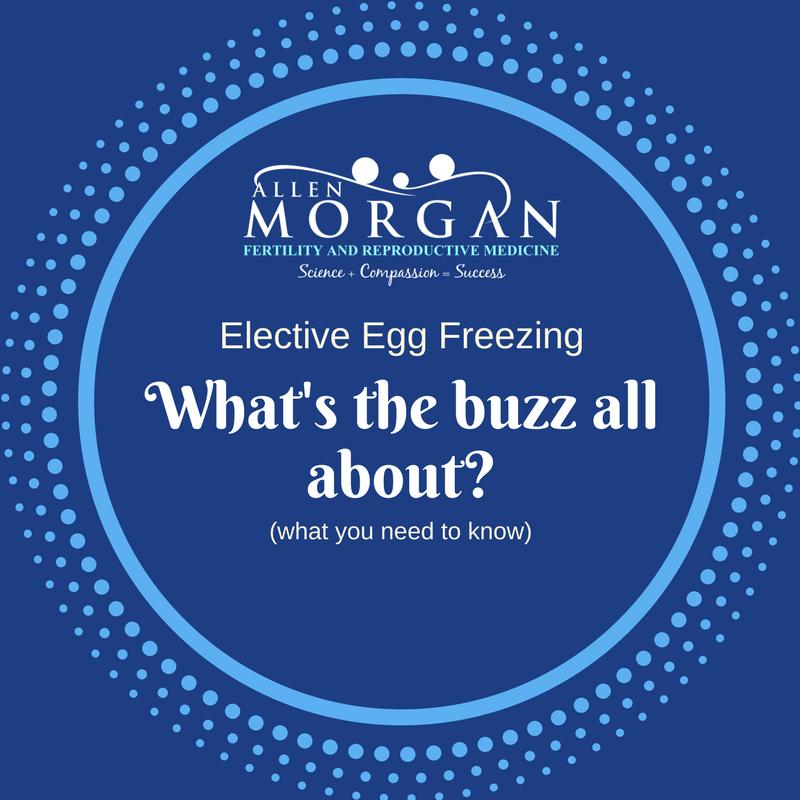 elective egg freezing for fertility