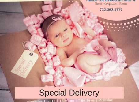 Infertility Success - Special Delivery!