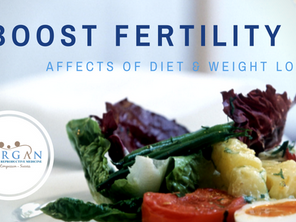 Nutritious Diet and Healthy Weight Boosts Fertility