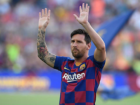 Leo Messi muy a su pesar seguirá con el Barcelona