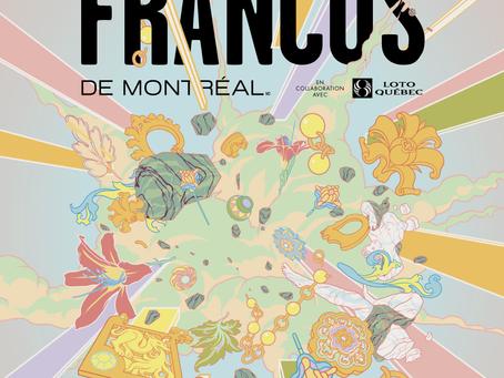 Francos de Montreal del 9 al 12 septiembre - Lista de Artistas