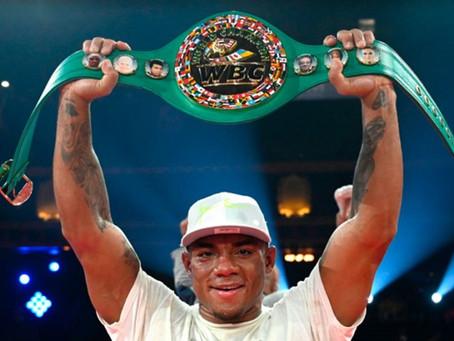 Oscar Rivas el flamante campeón del peso Bridger