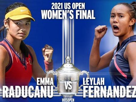 Leylah Fernandez y Emma Raducanu, la nueva cara del tenis