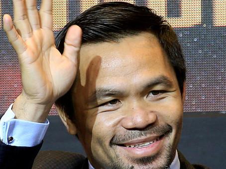 El múltiple campeón Manny Pacquiao anunció su retiro del Boxeo